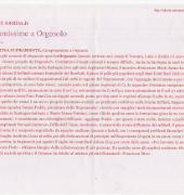 """Articolo """"Campionissime a Orgosolo"""" del 01 marzo 2000 su l'Unione Sarda"""